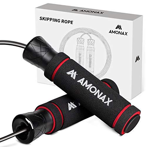 Amonax Springseil Erwachsener Fitness, Jump Rope...
