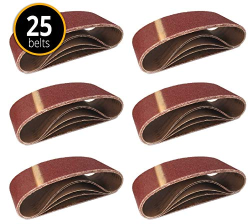 Gewebe-Schleifbänder │ 25 Stück │ 75 x 533...
