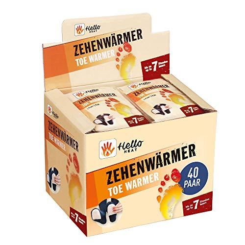 HELLO HEAT (Warmpack 40 Paar Zehenwärmer I...