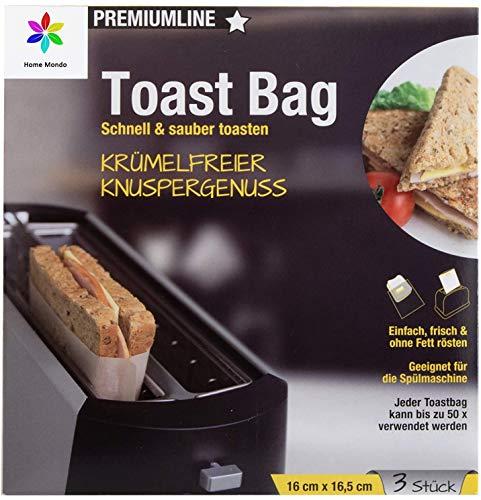 Sunmondo 6x Toastbag - Die Backpapier Tasche für...