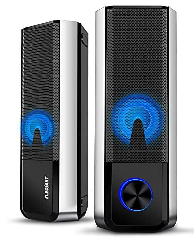 ELEGIANT PC Lautsprecher, Bluetooth 5.0 Computer...