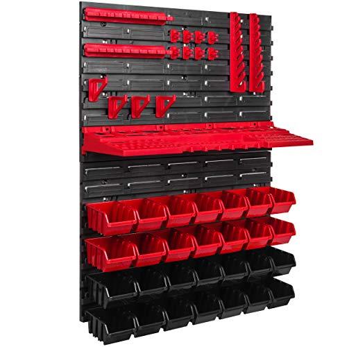 Lagersystem Wandregal 576 x 780 Stapelboxen...