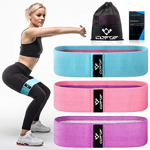 COFOF Resistance Bands Fitnessband, Booty Sport...