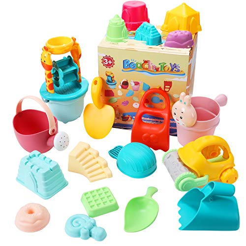 joylink Kinder Sandspielzeug Set, 26-teiliges...