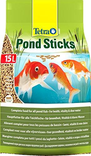 Tetra Pond Sticks - Fischfutter für Teichfische,...