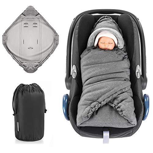 Zamboo Einschlagdecke für Babyschale und...