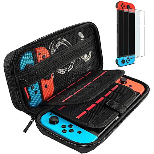 daydayup Tasche für Nintendo Switch, Harte Hülle...