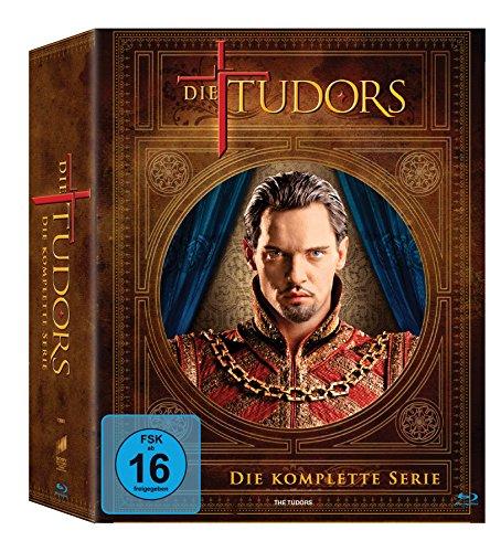Die Tudors - Die komplette Serie [Blu-ray]...