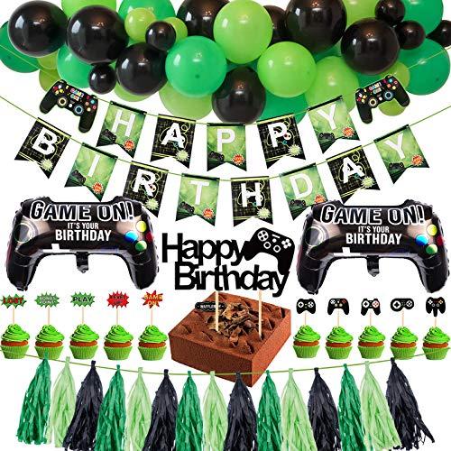 Tacobear Spiel Party Deko Videospiel Party...