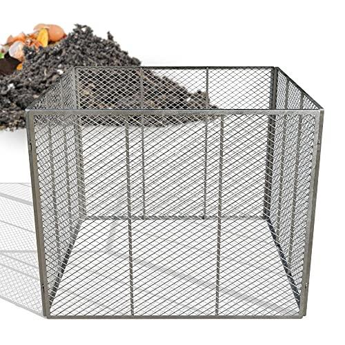 Heimfleiss® Metallkomposter 100x100x80 cm  ...