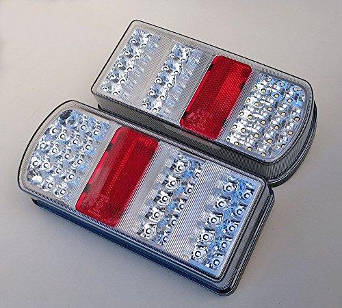 2 x LED Rückleuchten Set Heckleuchte 12 V für...