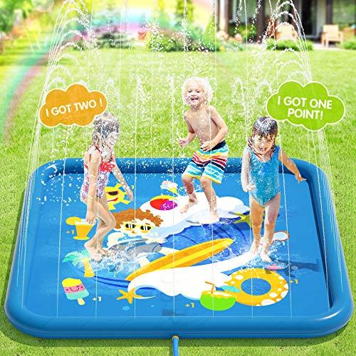 Peradix Splash Pad,170CM Sprinkler...