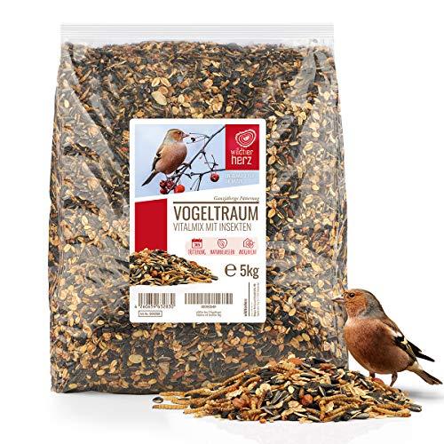 wildtier herz I Vogeltraum Vitalmix Sommerfutter -...