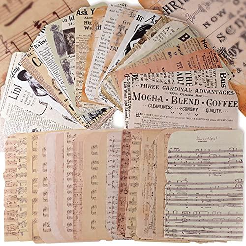 50 Stk 12x17cm Scrapbooking Papier Deko Vintage...