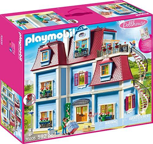 PLAYMOBIL Dollhouse 70205 Mein Großes Puppenhaus,...