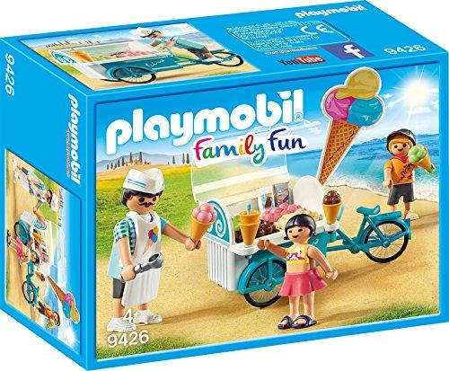 PLAYMOBIL Family Fun 9426 Fahrrad mit Eiswagen, ab...