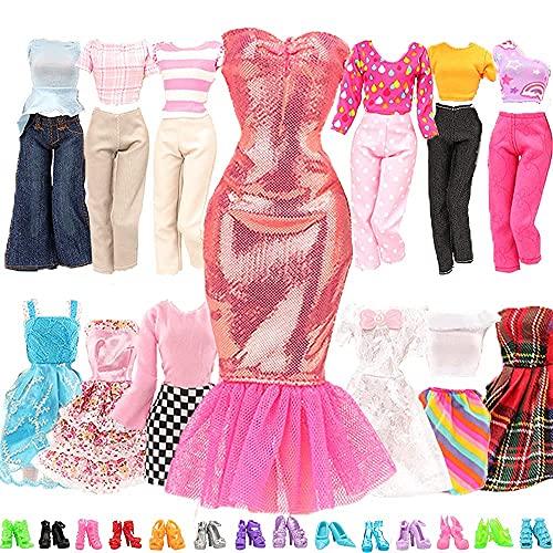 Miunana 15 Kleidung Puppensachen Partymoden...