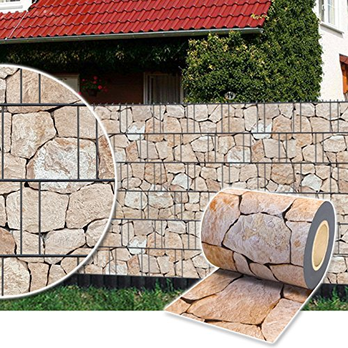 Plantiflex Sichtschutz Rolle 35m Blickdicht PVC...