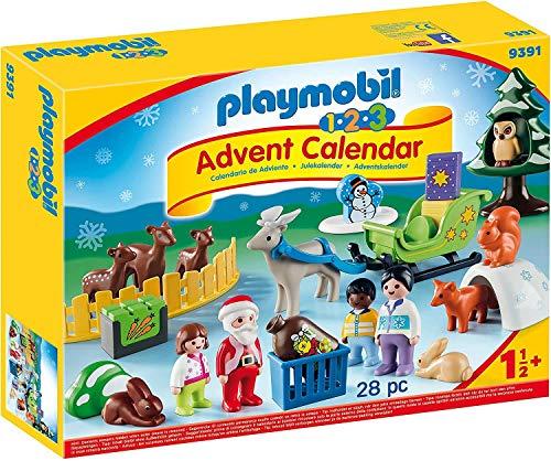 PLAYMOBIL Adventskalender 9391 Waldweihnacht der...