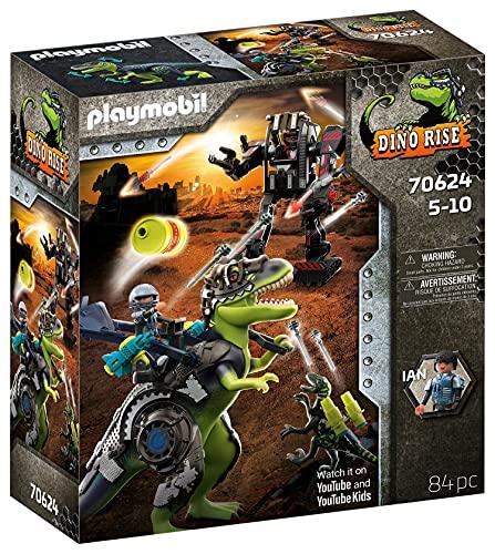 PLAYMOBIL Dino Rise 70624 T-Rex: Gefecht der...