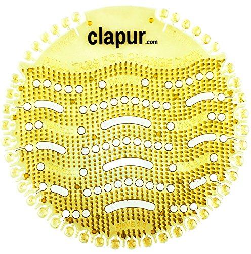 clapur Urinal-Sieb (2x) Dift citrus Zitrone,...