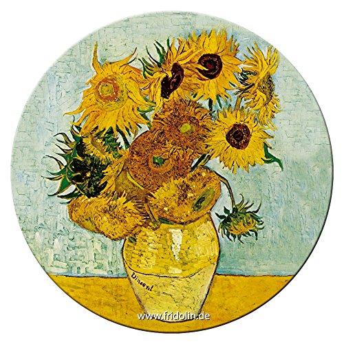 Fridolin Taschenspiegel 7,6 cm Van Gogh:...
