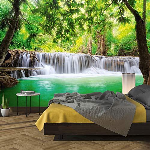 murimage Fototapete Wasserfall 3D 366 x 254cm...