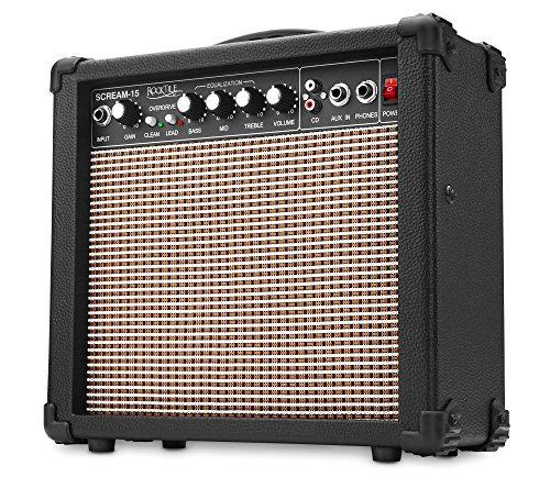 Rocktile Scream 15 Gitarrenverstärker Mini Combo...