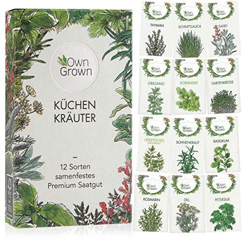 Kräuter Samen Set von OwnGrown, 12 Sorten...