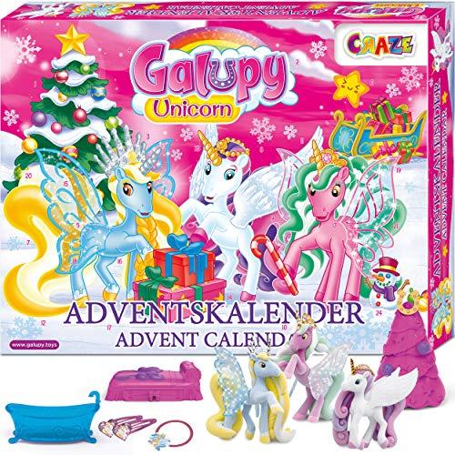 Craze Adventskalender GALUPY Unicorn Einhorn...