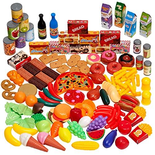 150-teiliges Lebensmittelspielzeug...