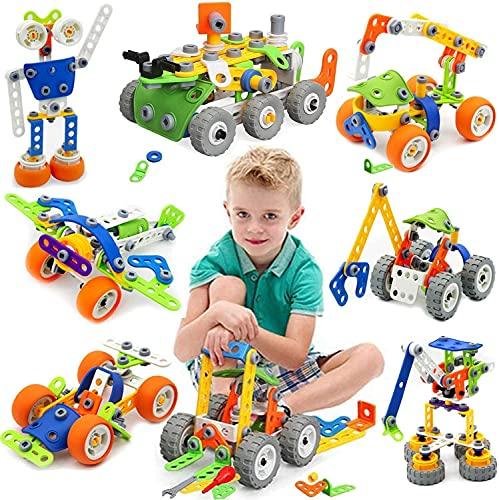 MOONTOY Konstruktionsspielzeug für Kinder, STEM...