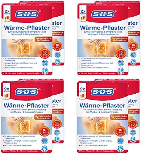 SOS Wärme-Pflaster, zur Schmerzlinderung bei...