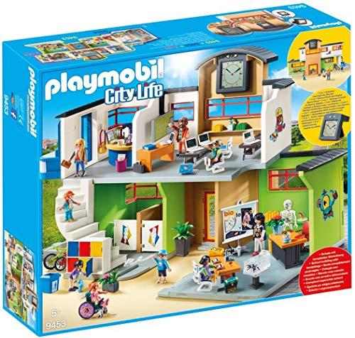 PLAYMOBIL City Life 9453 Große Schule mit...