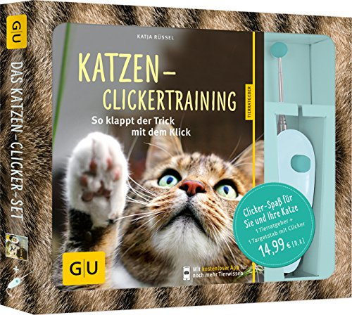 Katzen-Clickertraining-Set: So klappt der Trick...