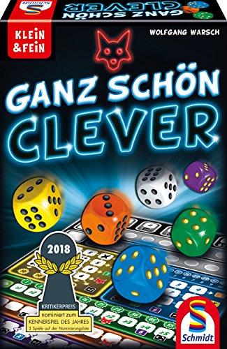 Schmidt Spiele 49340 Ganz Schön Clever,...