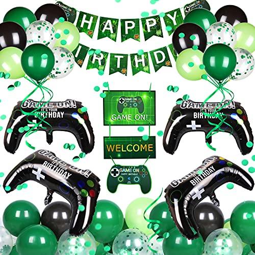 Nabance Spiel Partyzubehör Set Videospiel Party...