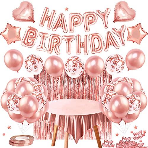 Hanmulee Geburtstagsdeko, Happy Birthday Party...