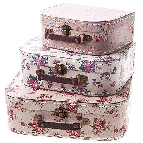 Sass & Belle Set mit 3 Koffern im Vintage-Design...